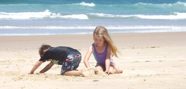 Kako zabaviti djecu na godišnjem odmoru?