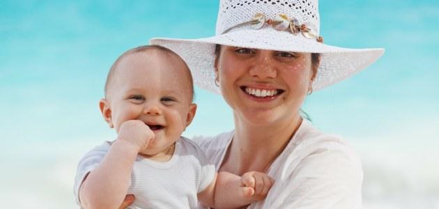 Nošena beba – najsretnija beba