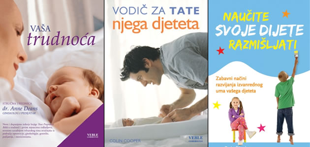 Tri top knjige za tate i mame