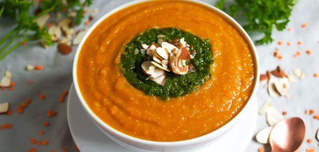 Jednostavna marokanska juha od crvene leće i mrkve