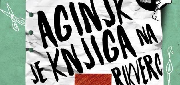 Aginjk je knjiga na rikverc