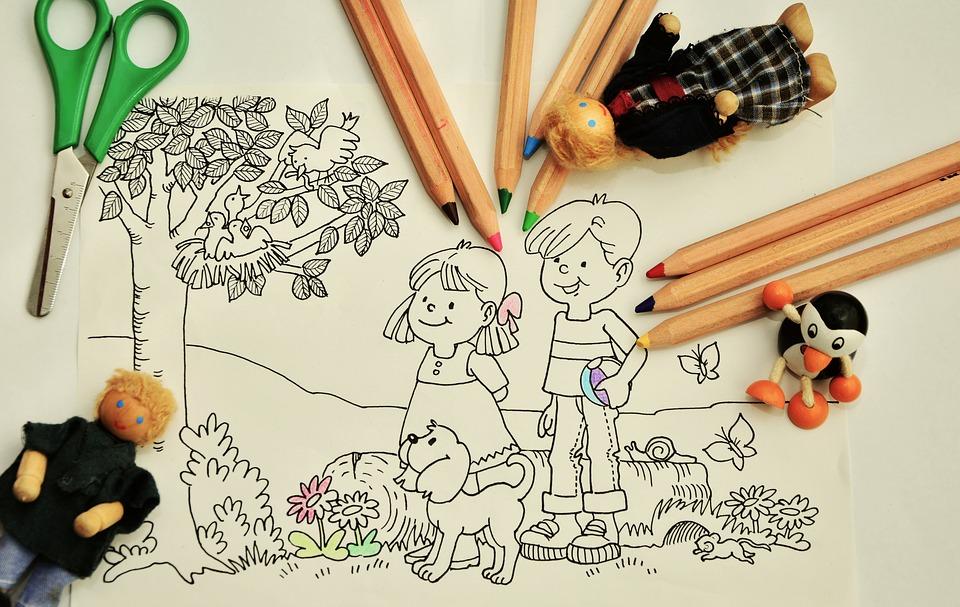 djeca i crtanje