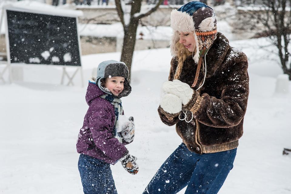 djeca zima roditelji