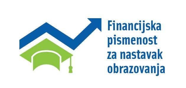 Financijska pismenost za nastavak obrazovanja