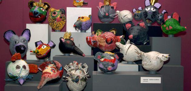 Fašnik u Muzeju za umjetnost i obrt