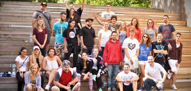 Mladi hip-hop poduzetnici iz Europske Unije u Zagrebu