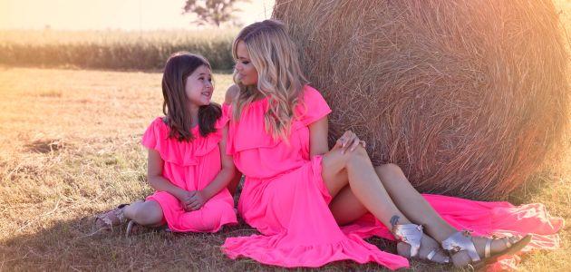 Ljetne haljine za mamu i kćer