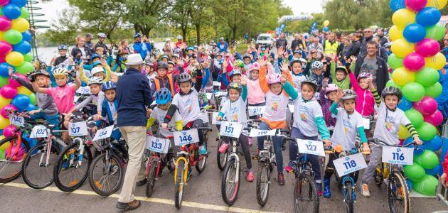 Na Jarunu održano šesto izdanje biciklističke utrke Dukat Fit