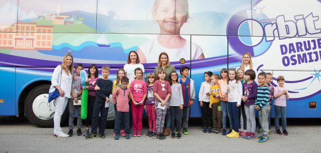 Zubomobil uljepšao dan mališanima u SOS Dječjem selu Lekenik