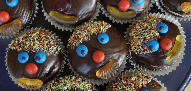 Fini muffini s komadićima čokolade