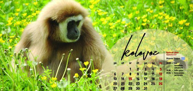 Novi kalendar Zoološkog vrta grada Zagreba