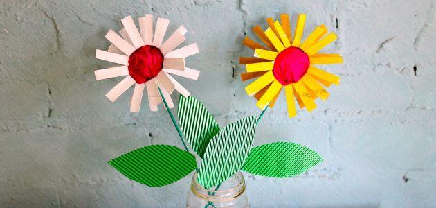 Dječje rukotvorine – šareno cvijeće i vesele sove od rolna toalet papira