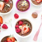 puding hrana voće jagoda čokolada hrana