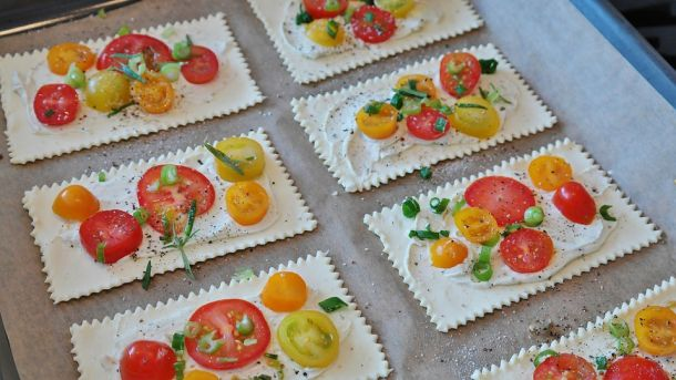 fokacioo paradajz hrana