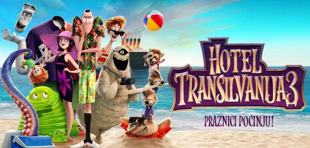 Odabrali smo sretne dobitnike za poklon pakete Hotel Transilvanija 3: Praznici počinju