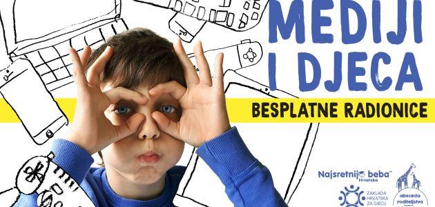 Besplatne radionice Mediji i djeca