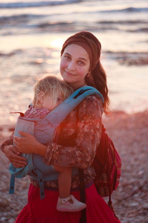 mama nosiljka dijete