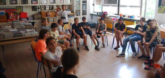 Projekcije filmske ljetne škole za djecu i mlade u Art parku