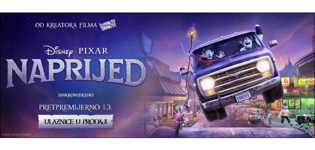 Najnoviji Disneyev animirani film Naprijed