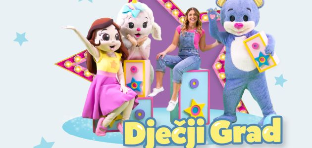 Dječji Grad te poziva na mini disko ples – i to on-line!