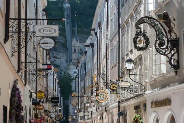 ulice salzburga
