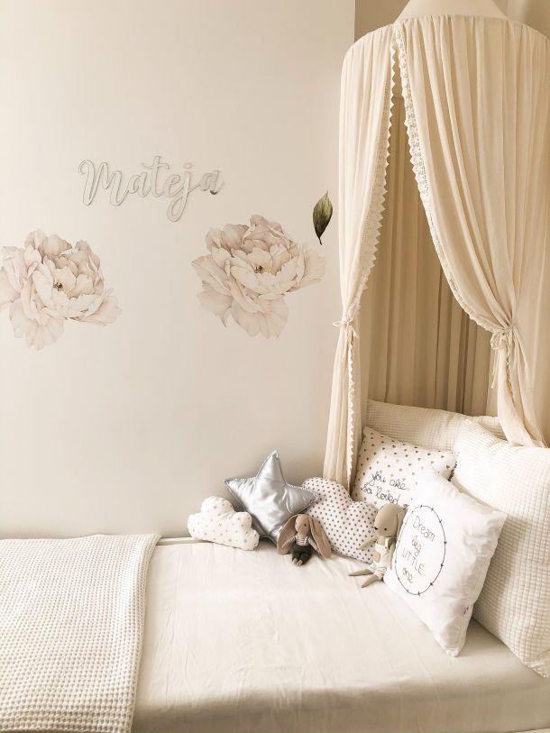 soba za djevojcice djeca krevet s baldahinom