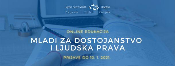 Novi ciklus besplatne online edukacija o ljudskim pravima