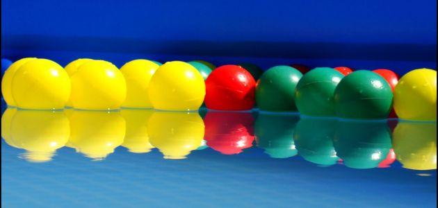 Lopta je jedna od najboljih igračaka za dijete