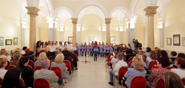 Izložba Saveza društava Naša djeca Hrvatske