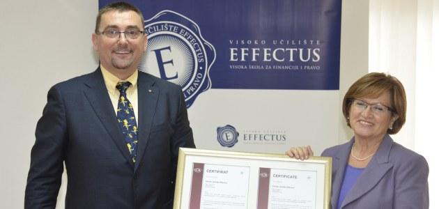 Studij Effectus prvi s certifikatom ISO 29990