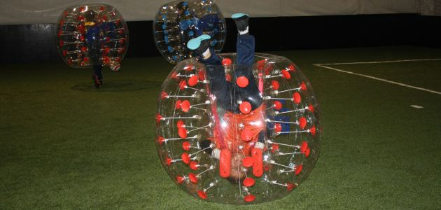 Upoznajte Bubble football