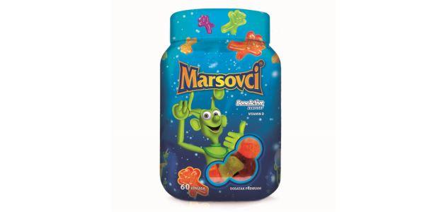Marsovci –  zabavan način uzimanja vitamina za djecu
