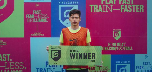 Ivan Benko osvojio sudjelovanje na Nike akademiji