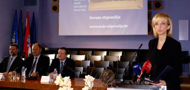 Predstavljanje web aplikacije 'Forum stipendija'