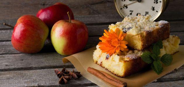 Sočna pita od starog kruha, jabuka i cimeta