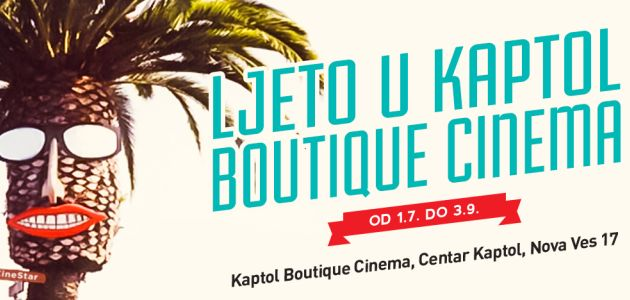 Ljeto u Kaptol Boutique Cinema
