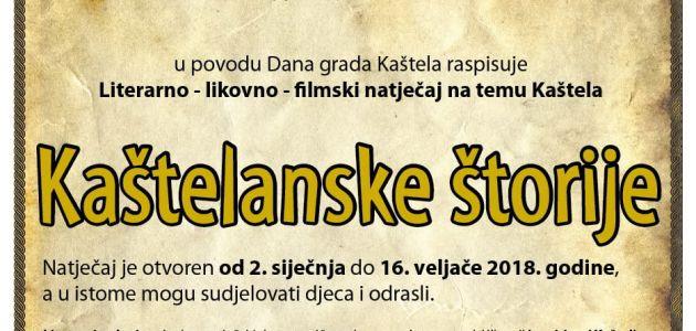 "Literarno-likovno-filmski natječaj ""Kaštelanske štorije 2018."""