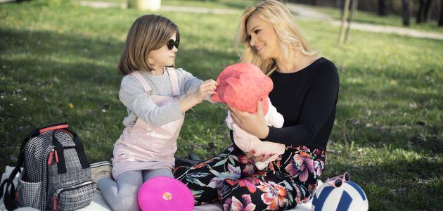 Ivana Marić štiti vid svojih djevojčica od malih nogu
