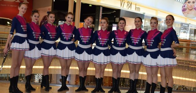 Svetonedeljske Mažoretkinje: Twirling-mažoretni i plesni klub Iskrice