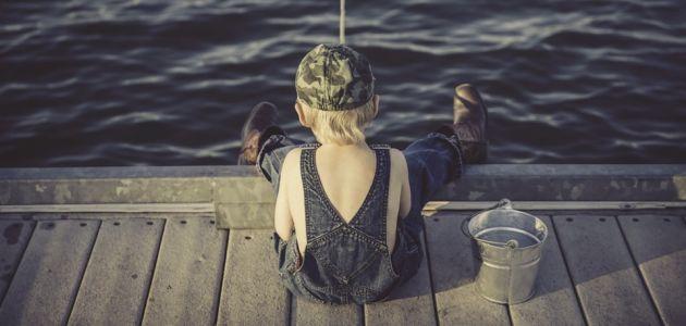 dijete na moru