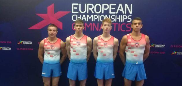 Juniorski gimnastički reprezentativci u finalu Europe
