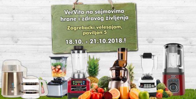 VerVita je izlagač na Sajmovima hrane i zdravog življenja