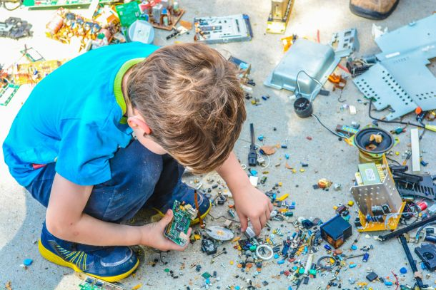 djeca reciklaža