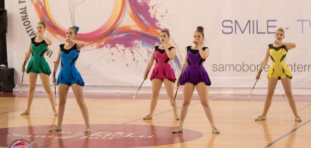 Twirling-mažoretni klub Sveta Nedelja plesna sezona