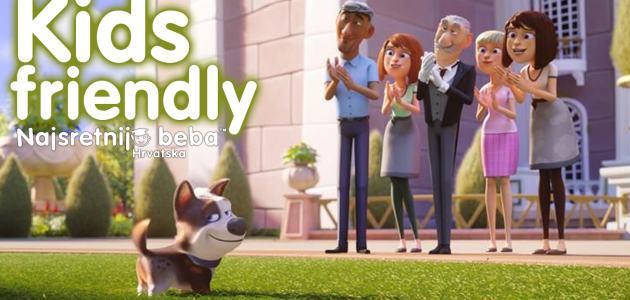 Frka je novi crtani film o privilegiranom psu