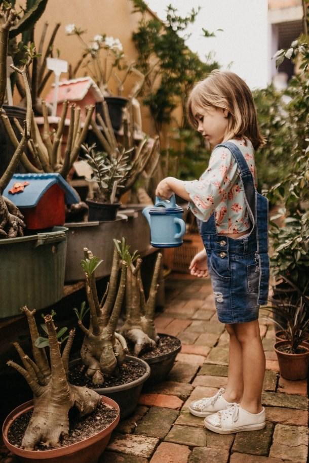 dijete djeca vrt