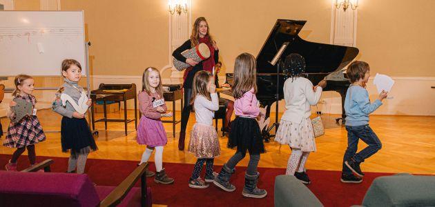 Glazbena jutra za djecu u HGZ-u