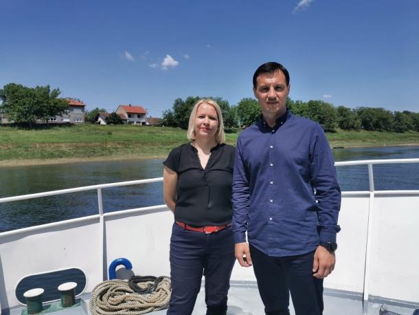 Kristina Ikić Baniček i Ivor Stanivuković