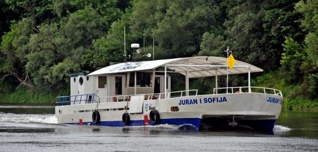 Turistička atrakcija u Sisku Kupom ponovo plovi panoramski brod