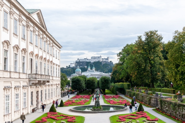vrt dvorac Mirabell salzburg